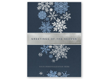 Fall of Flakes Holiday Cards