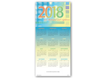 Welcome 2018 Calendar Cards